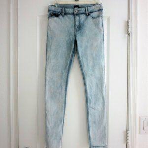 ASOS Skinny Jeans Light Wash 0 2 4